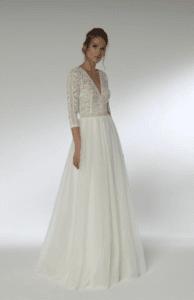 Brautkleid 1190 Lilurose Vintagekleid